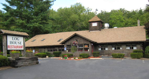 Located at 110 New Hartford Road  Route 44  Barkhamsted  CT 06063. Welcome to the Log House Restaurant
